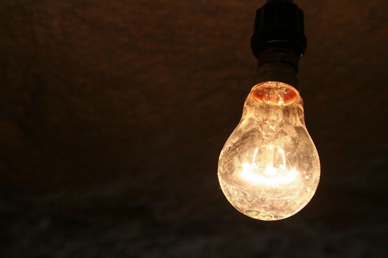 白熱灯の電灯